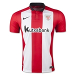 Athletic Bilbao 15/16 Home Soccer Jersey