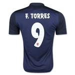 Atletico Madrid 15/16 F. TORRES Away Soccer Jersey