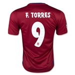 Atletico Madrid 15/16 F. TORRES Home Soccer Jersey