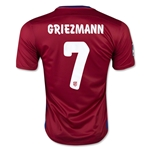Atletico Madrid 15/16 GRIEZMANN Home Soccer Jersey