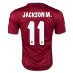 Atletico Madrid 15/16 JACKSON M. Home Soccer Jersey