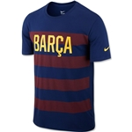 Barcelona Core Plus T-Shirt (Blue)