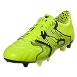 adidas X 15.1 FG/AG Leather (Solar Yellow/Frozen Yellow)