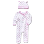 Chelsea Girl Sleepsuit and Hat Set