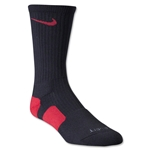 Nike Dri-FIT Elite Crew Socks (Blk/Red)