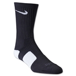 Nike Dri-FIT Elite Crew Socks (Blk/Wht)