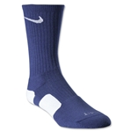 Nike Dri-FIT Elite Crew Socks (Navy/White)