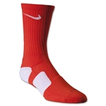 Nike Dri-FIT Elite Crew Socks (Org/Wht)