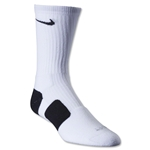 Nike Dri-FIT Elite Crew Socks (Wh/Bk)