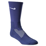 Nike Hyper Elite Crew Socks (Navy/White)