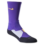 Nike Hyper Elite Crew Socks (Purple)