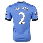 Tottenham 15/16 WALKER Away Soccer Jersey