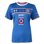 Cruz Azul 15/16 Women's Home Soccer Jersey