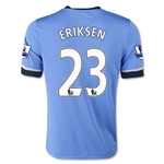Tottenham 15/16 ERIKSEN Youth Away Soccer Jersey