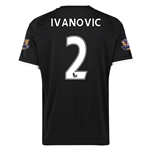 Chelsea 15/16 IVANOVIC Third Soccer Jersey