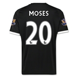 Chelsea 15/16 MOSES Third Soccer Jersey