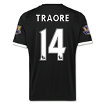 Chelsea 15/16 TRAORE Third Soccer Jersey