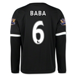 Chelsea 15/16 BABA LS Third Soccer Jersey