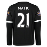 Chelsea 15/16 MATIC LS Third Soccer Jersey