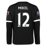 Chelsea 15/16 MIKEL LS Third Soccer Jersey