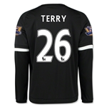 Chelsea 15/16 TERRY LS Third Soccer Jersey