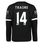 Chelsea 15/16 TRAORE LS Third Soccer Jersey
