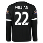 Chelsea 15/16 WILLIAN LS Third Soccer Jersey