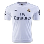 Real Madrid 15/16 UCL Home Soccer Jersey