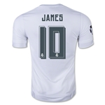 Real Madrid 15/16 JAMES UCL Home Soccer Jersey