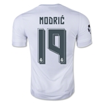 Real Madrid 15/16 MODRIC UCL Home Soccer Jersey