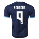 Real Madrid 15/16 BENZEMA Third Soccer Jersey