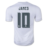 Real Madrid 15/16 JAMES Youth UCL Home Soccer Jersey