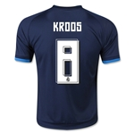 Real Madrid 15/16 KROOS Youth Third Soccer Jersey