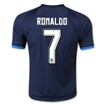 Real Madrid 15/16 RONALDO Youth Third Soccer Jersey
