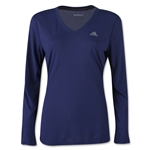 adidas Women's Ultimate LS T-Shirt (Navy)