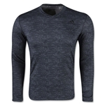 adidas Team Issue Fitted Base LS Top (Dk Grey)