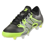 adidas X 15.1 FG/AG (Iron Metallic/Black/Solar Yellow)
