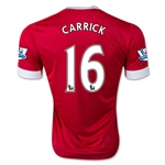 Manchester United 15/16 CARRICK Authentic Home Soccer Jersey