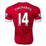 Manchester United 15/16 CHICHARITO Authentic Home Soccer Jersey