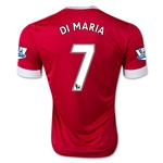 Manchester United 15/16 DI MARIA Authentic Home Soccer Jersey