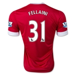 Manchester United 15/16 FELLAINI Authentic Home Soccer Jersey