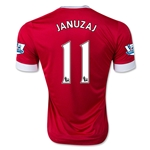 Manchester United 15/16 JANUZAJ Authentic Home Soccer Jersey