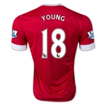 Manchester United 15/16 YOUNG Authentic Home Soccer Jersey