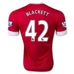 Manchester United 15/16 BLACKETT Home Soccer Jersey