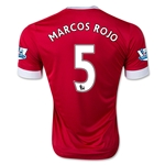 Manchester United 15/16 MARCOS ROJO Home Soccer Jersey