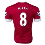 Manchester United 15/16 MATA Home Soccer Jersey