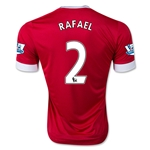 Manchester United 15/16 RAFAEL Home Soccer Jersey