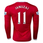 Manchester United 15/16 JANUZAJ LS Home Soccer Jersey