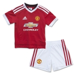 Manchester United 15/16 Home Mini Kit