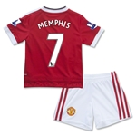 Manchester United 15/16 MEMPHIS Home Mini Kit